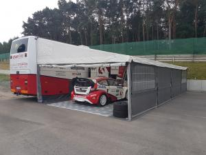 Racebus with Stegmaier tent