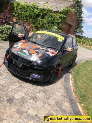 Suzuki Swift Junior Rallycross car
