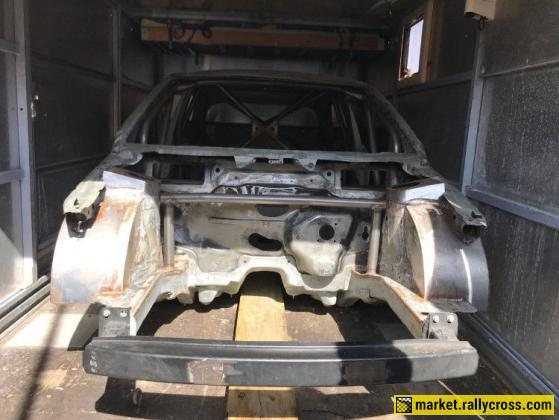 NEW VW Polo MK5 Body with rollcage