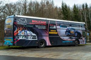 Volvo BM10 Berkhof race bus