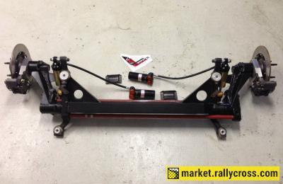 New rear axle saxo kit car
