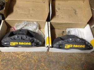 Calipers front AP Racing 6 piston