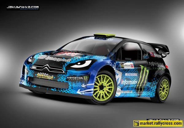 Design service for Rallycross