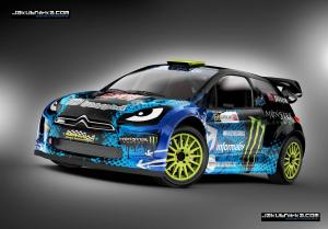 Design service for Rallycross