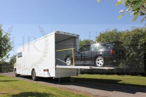 Mercedes Axor Motorsport Transporter with Office, Slideout & Tail lift - Brand new build ready now!