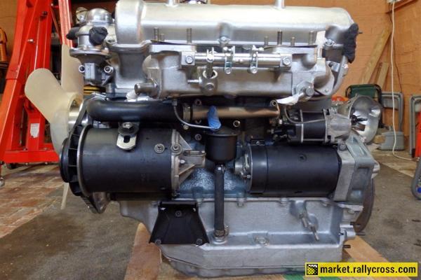 Fiat OSCA 1600S Engine