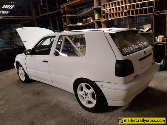 Vw golf 3 16v with drenth dogbox