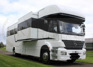 Mercedes Motorhome with Slide out - Living for 6, with Garage space