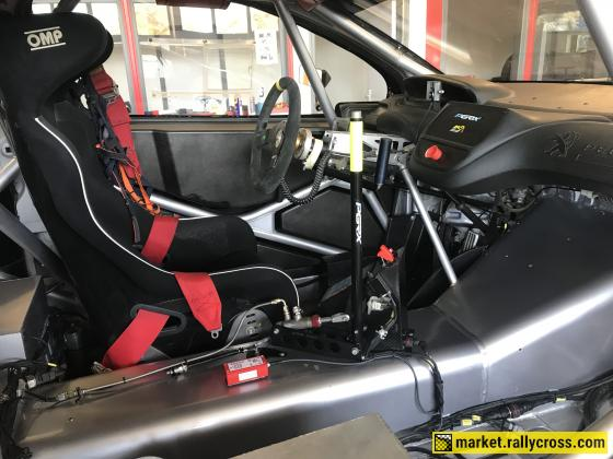 Peugeot 208 WRX Ex Peugeot-Hansen 2014