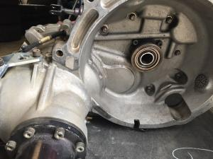 Ford Fiesta R5 gearbox