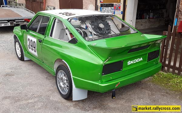 ŠKODA RAPID D6 AUTOCROSS -- EX ANTONY -- 1.6 16V 230PS 198NM