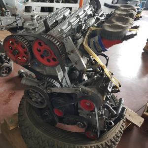 Engine old fiat 131 abarth gr 4