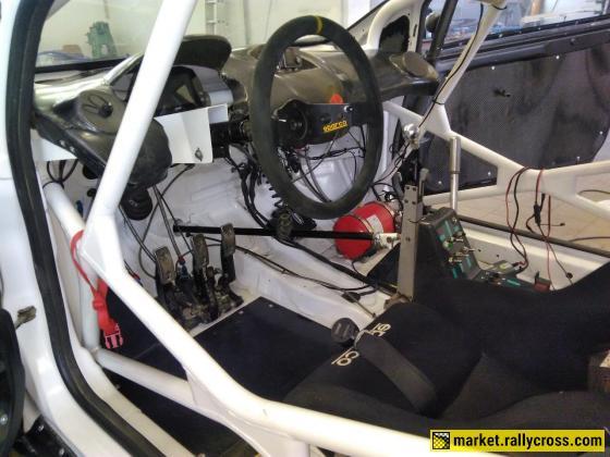 Ford Fiesta Super1600 for European RX championship