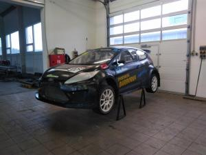 Ford Fiesta Super1600 for European RX championship