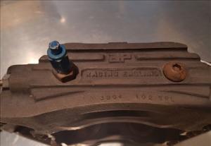 Porsche 962 carbon brake set