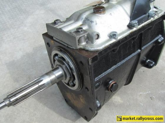 Jaguar 4 speed 'straight cut' race gearbox