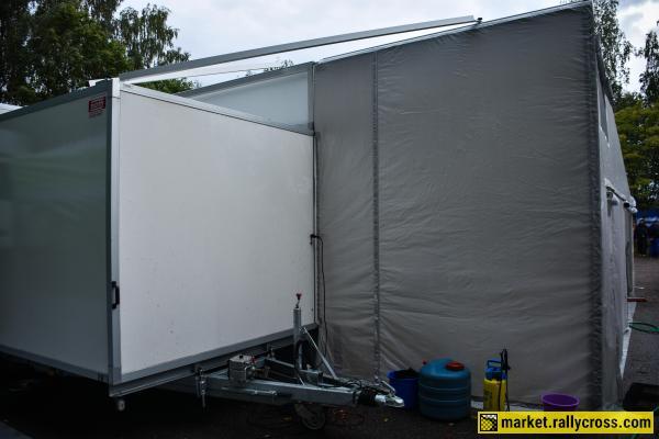 Hirth trailer + Stegmaier tent