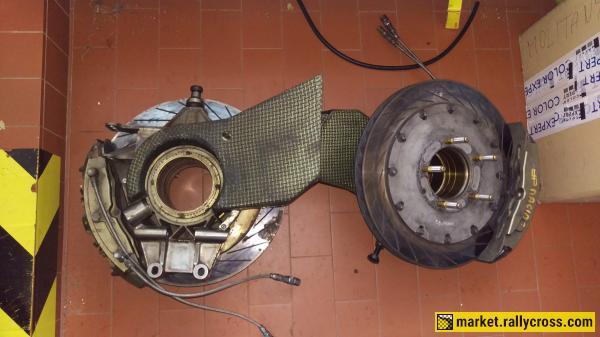 Fabia WRC uprights