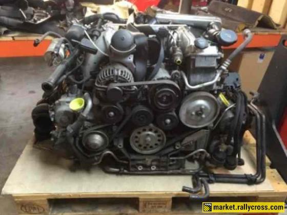 Porsche 997 Turbo 3.6 + BV engine