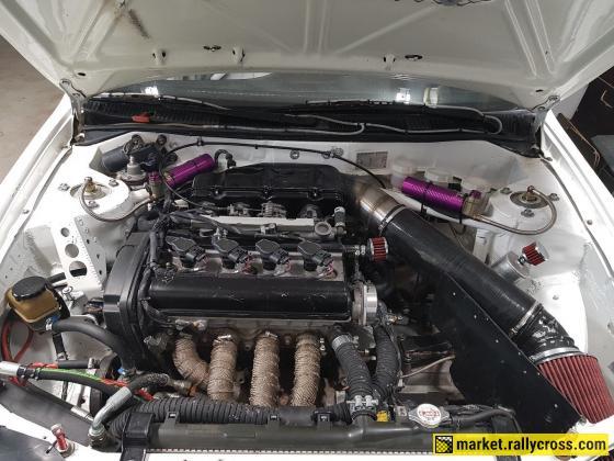 Toyota Corolla 4AGE  20v Black Top