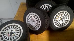 Lancia Delta Integrale Gr.A Magnesium wheels
