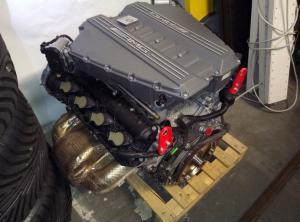 Mercedes AMG SLS GT GT3 engine
