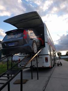 Setra bus, used for rallycross