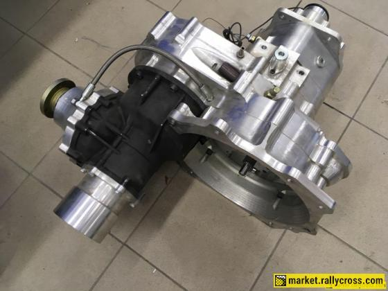 IK sequential gearbox, SADEV transfer box and SADEV rear diff