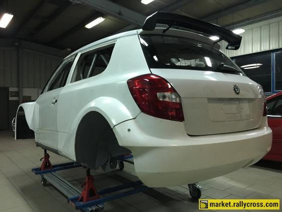 Skoda Fabia MK2 Chassis