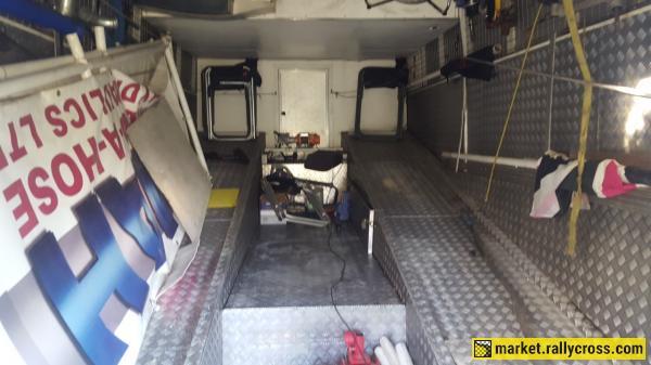 Volvo B10M Race Transporter/motorhome