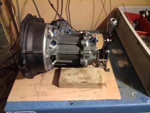 Bacci-romano RC 111 gearbox