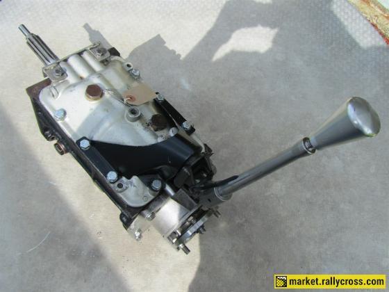 Jaguar 4 speed straight cut race gearbox