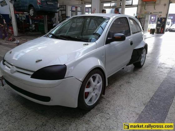 Opel Corsa C Rallycross STC-2000 race car