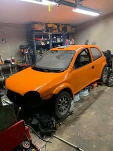 Opel Corsa B unfinished project