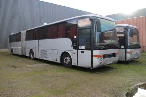 2005 Volvo B12M-A Van Hool T9 articulated coach (engine in the mid-front), papers from Sweden