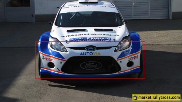 Ford Fiesta S2000 Carbon front bumper (original M-Sport)