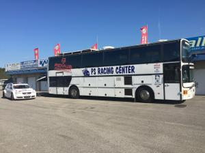 Van Hool double decker race bus (Ex jos kuypers) for sale
