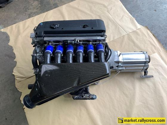 BMW E46 M3 CSL 3.2 S54 engine & sequential gearbox