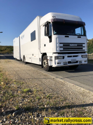 Ex M-Sport Truck and Trailer