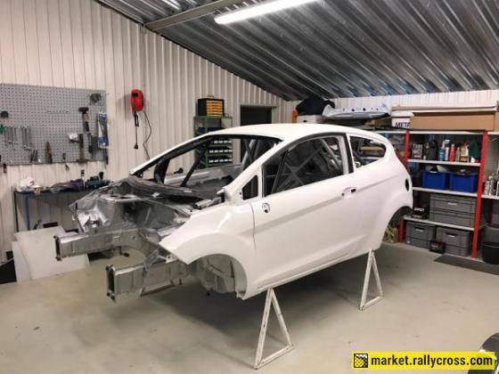 For sale Ford Fiesta R2 chassis