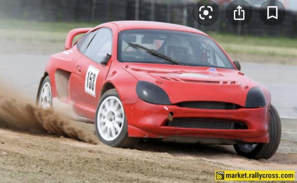 Ford puma Cosworth RX rolling shell