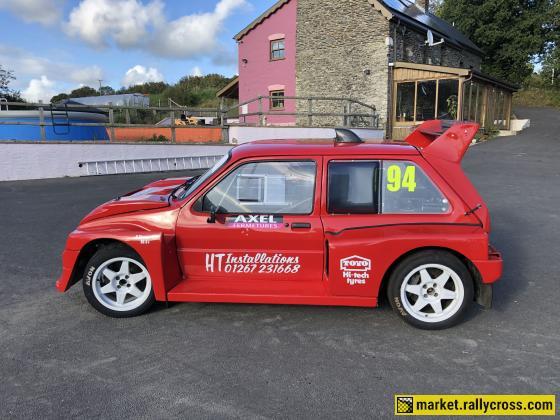 MG METRO 6R4 Rallycross car EX LAWRENCE GIBSON