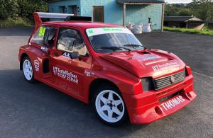 MG METRO 6R4 Rallycross car EX LAWRENCE GIBSON