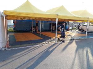 Service park floor for sale