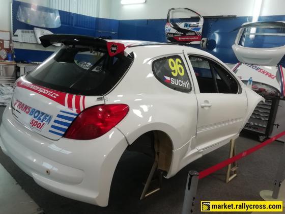 body of Peugeot 207 S1600