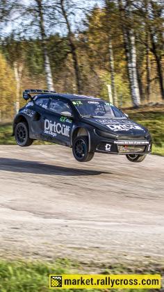 VW Scirocco R EuroRX-20 ex Kristoffersson