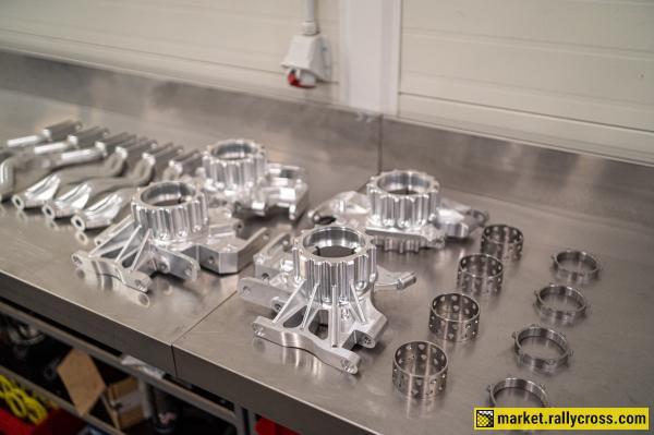 Ford Fiesta RX Supercar bodyshell + suspension