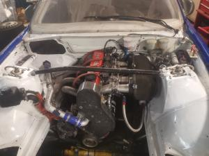 Volvo 3.2L evo engine