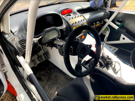 Peugeot 206 for rallycross