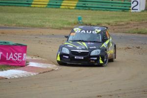 Skoda Fabia RX Super1600. Volland Racing VR4